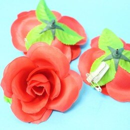 玫瑰胸花 尼龍 玫瑰花 禮花 一件