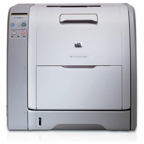 Refurbished HP LaserJet 3700DN Laser Printer - Color - 600 x 600 dpi Print - Plain Paper Print - Desktop - 16 ppm Mono / 16 ppm Color Print