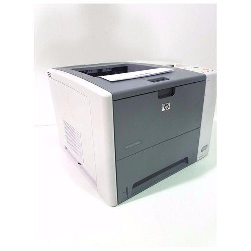 HP LaserJet P3005N Laser Printer - Monochrome - 1200 x 1200 dpi Print - Plain Paper Print - Desktop - 33 ppm Mono Print - Letter, Legal, Executive, A4, A5, B5 (JIS) - 600 sheets Standard Input Capacity - 100000 Duty Cycle - Manual Duplex Print - Ethernet 3