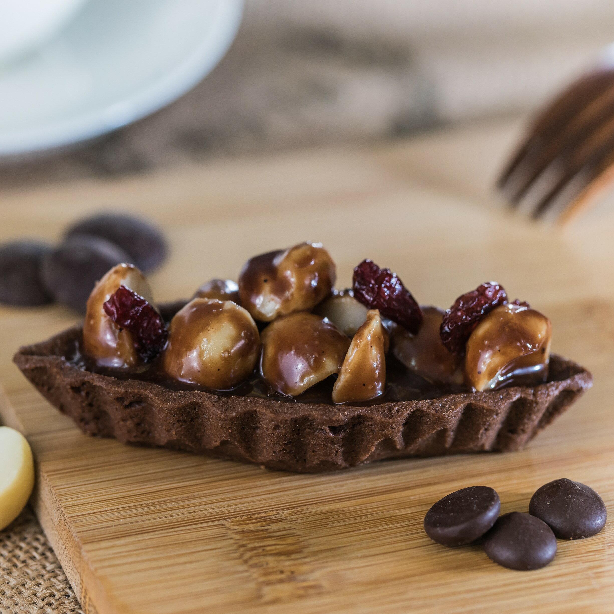 亞當 烘焙  巧克力夏威夷豆塔~6入組~199 持續 中~期間限定9  4~10  2