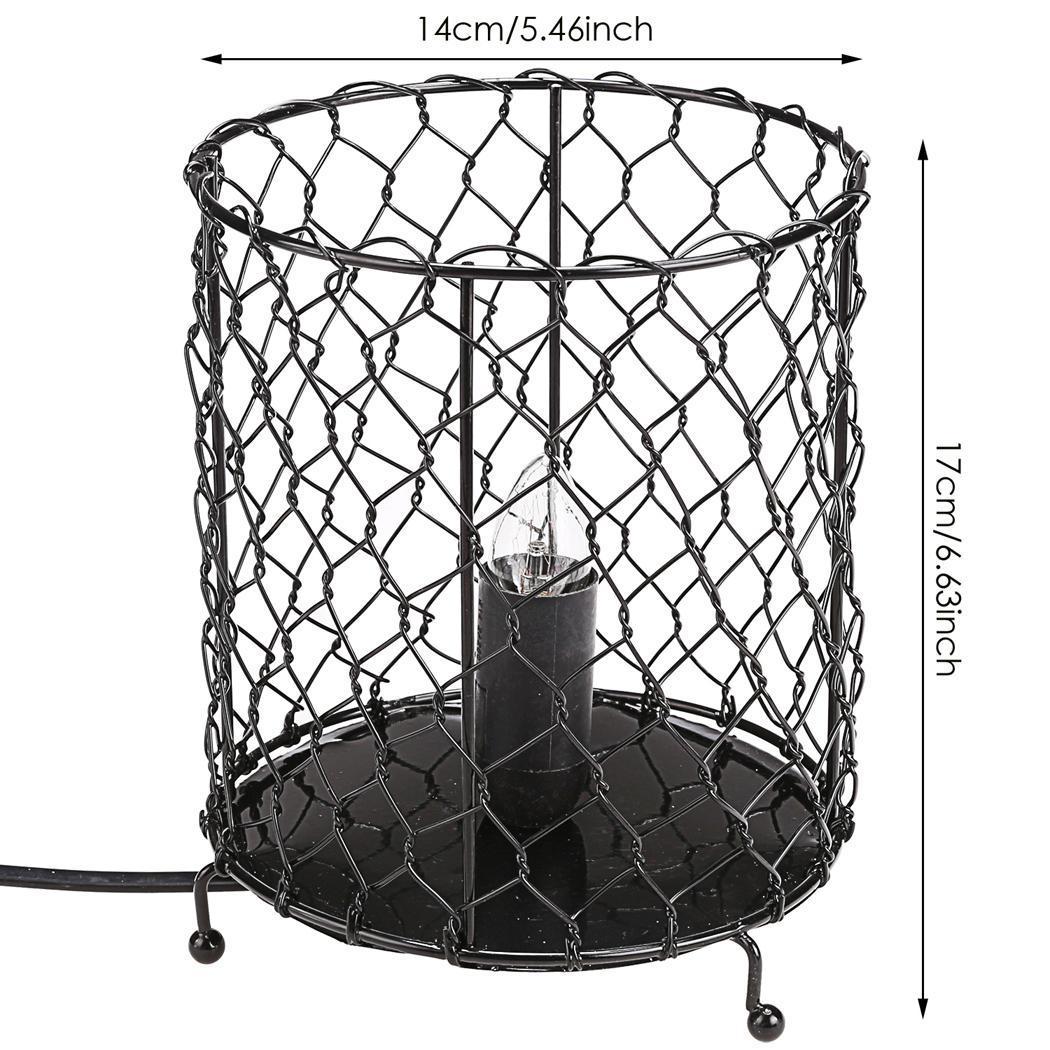 Salt Home Lamp Metal Basket US Plug 3