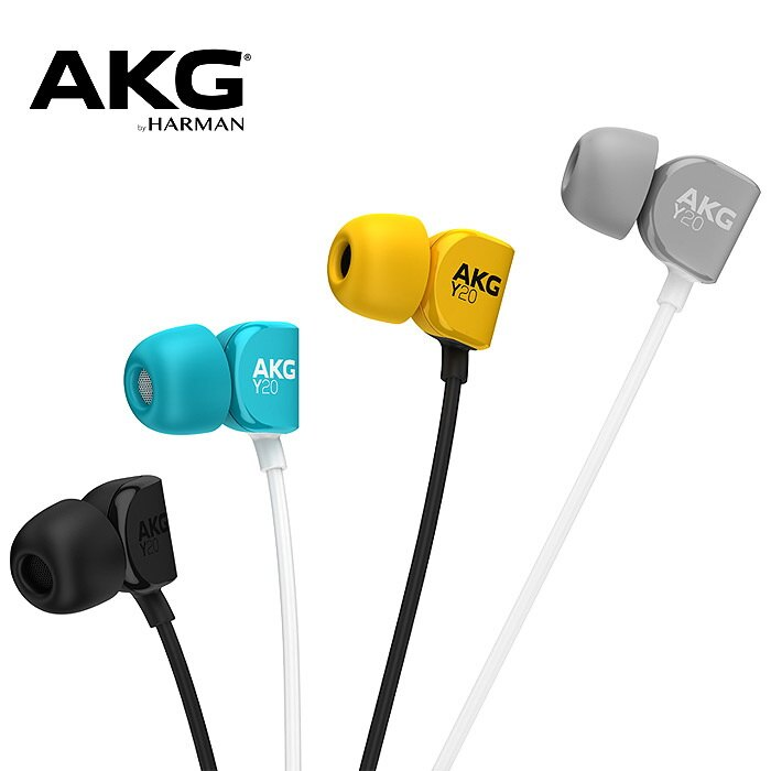 志達電子 Y20U  AKG 超舒適 in-Ear 系列 耳道式耳機麥克風 適用android iOS