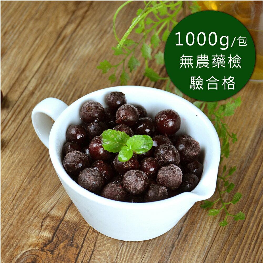 【幸美生技】進口急凍莓果 黑醋栗 1公斤