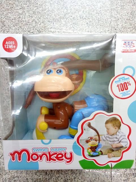 『121婦嬰用品館』聲光搖擺猴 0