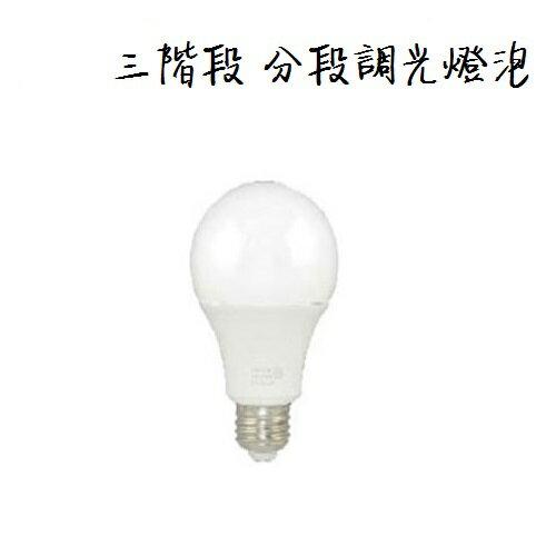 BOA★三階段調光 LED 球泡 可分段調光 12W 燈泡 全電壓★永光照明CQ4121