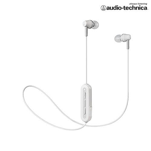 鐵三角 無線耳機麥克風ATH-CK150BT-白【愛買】