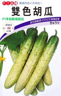 尋花趣-日本進口雙色胡瓜黃瓜(F1品種)(中包裝種子)每包約1.5公克