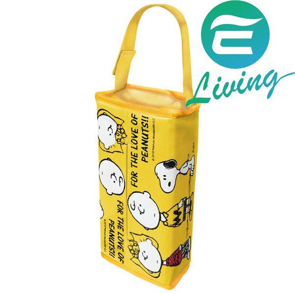 日本 MEIHO SNOOPY 史奴比面紙盒套 黃色 SN-121