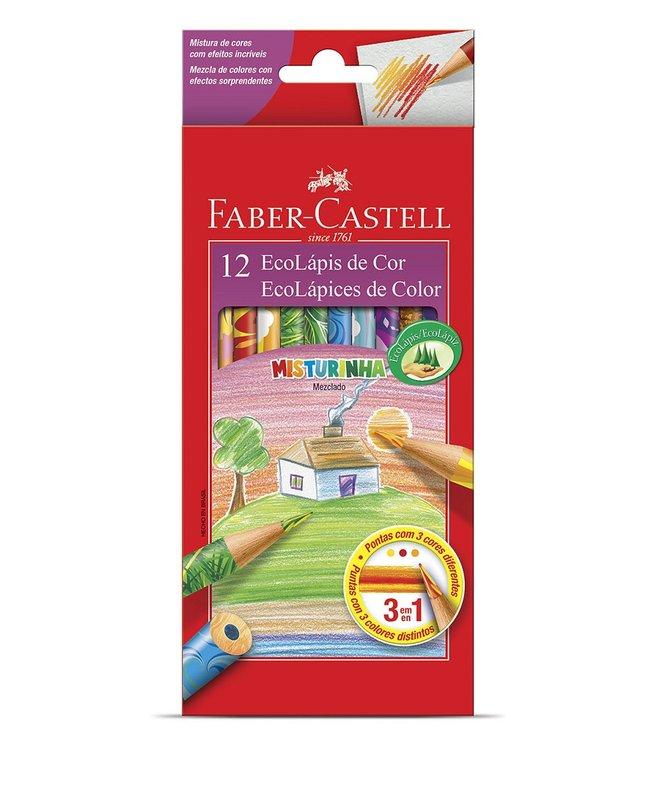 Faber~Castell輝柏 變色彩虹色鉛筆^(120112MIX^) 12色