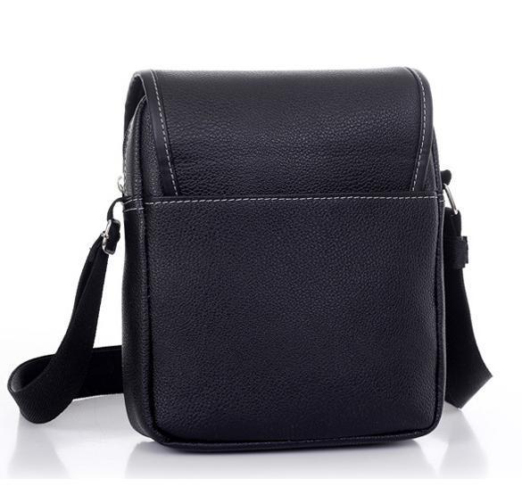 Men's Synthetic Leather Handbag Messenger Briefcase 5