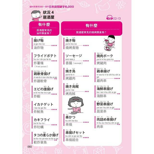 臨時需要用到的一個字:日語關鍵字6,000(附1MP3) 9