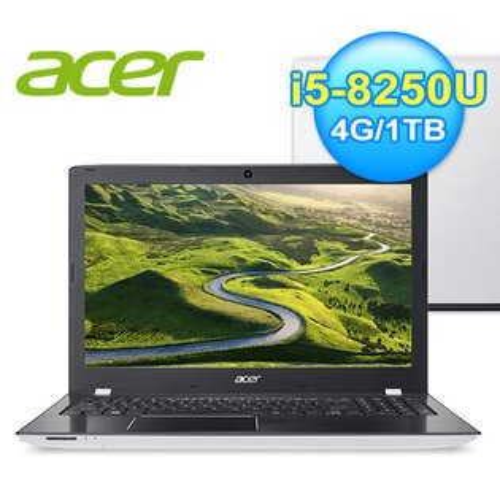 ACERE5-576G-549C15.6吋獨顯筆電白色【加贈威秀電影票】【三井3C】