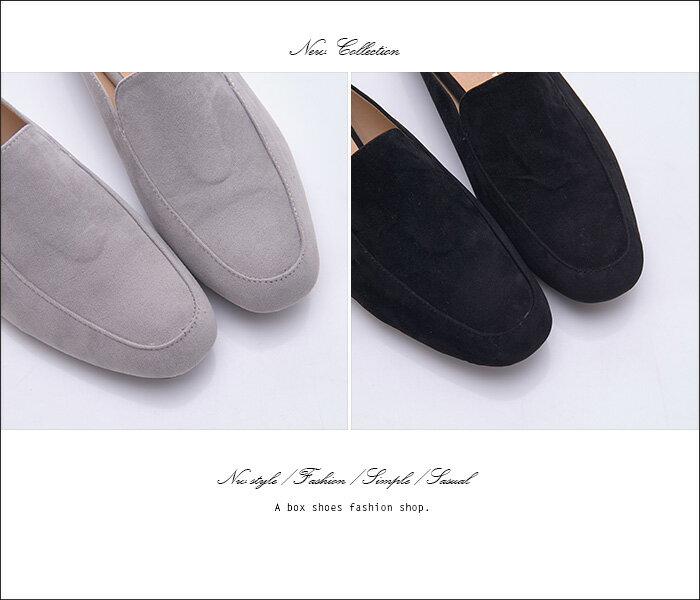 格子舖*【KW723】MIT台灣製 素面時尚絨布 外出/室內兩用拖鞋 1.5CM粗低跟 半包拖鞋 穆勒鞋 2色 2