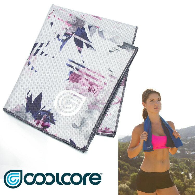 【印花系列】COOLCORE Chill Sport涼感運動巾  /  城市綠洲(涼感、降溫、運動戶外、高性能針織) 0