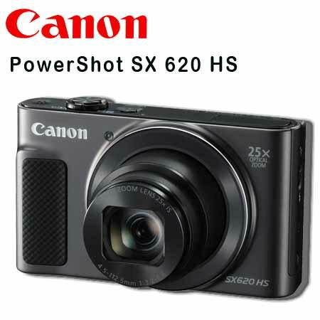 ★送32G+清潔套組 ★CANON PowerShot SX 620 HS 高望遠隨身型類單眼數位相機 彩虹公司貨正經800