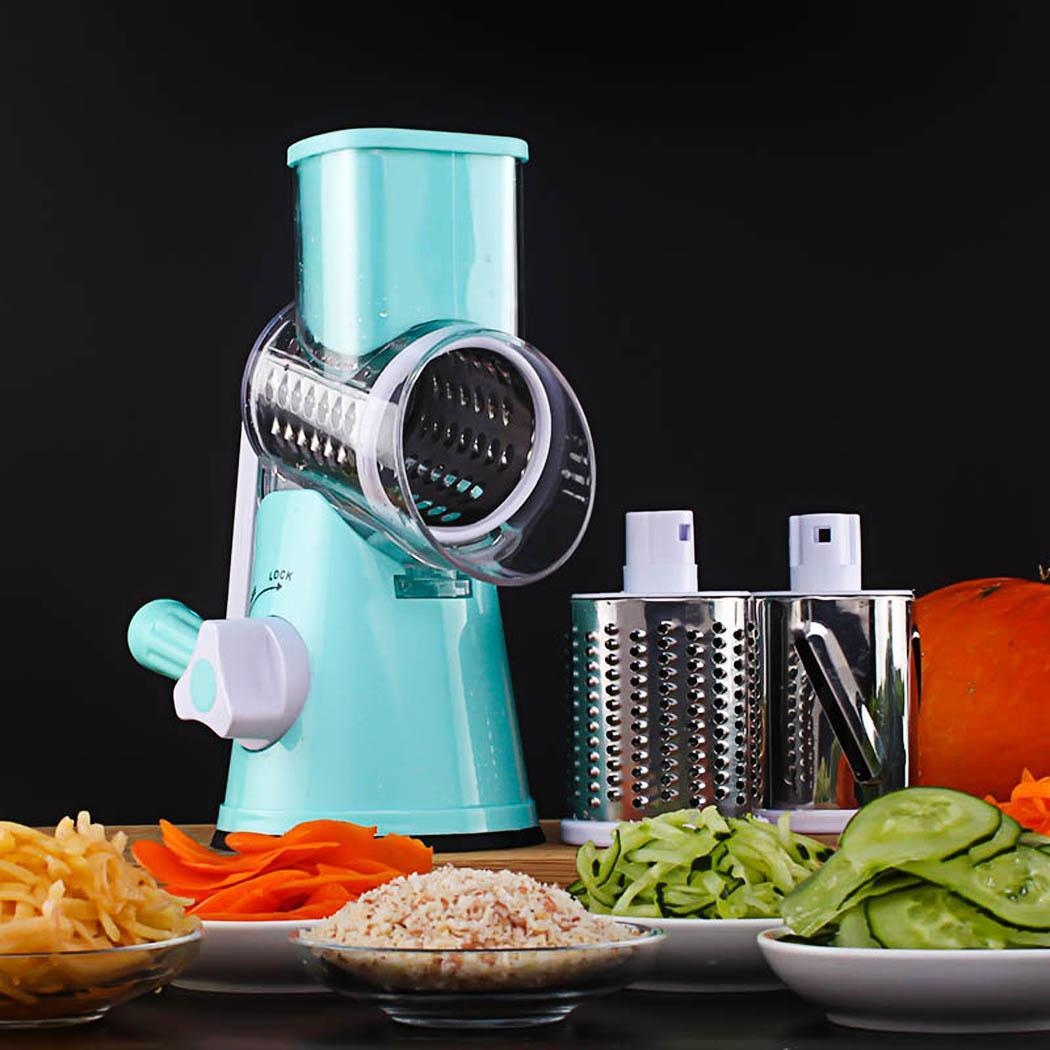 Round Stainless Steel Vegetable Slicer 3