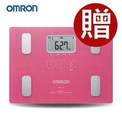 OMRON 歐姆龍體脂計 HBF-216(白色)-(贈BMI捲尺+專用酷黑提袋)HBF-212進階版