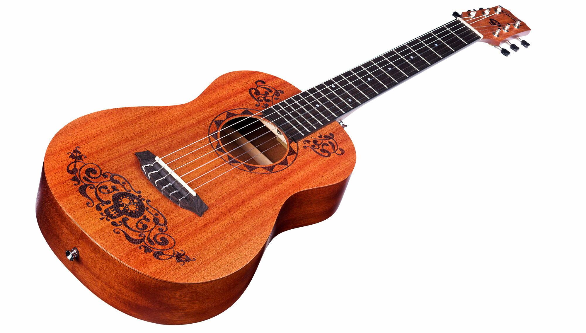烏克時代~Cordoba可可夜總會聯名迷你古典吉他 桃花心木面板