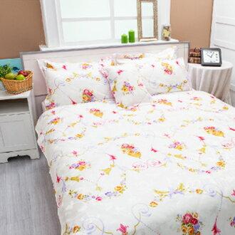 【名流寢飾家居館】藤葉漫漫.100%天絲.超柔觸感.標準雙人床罩組全套
