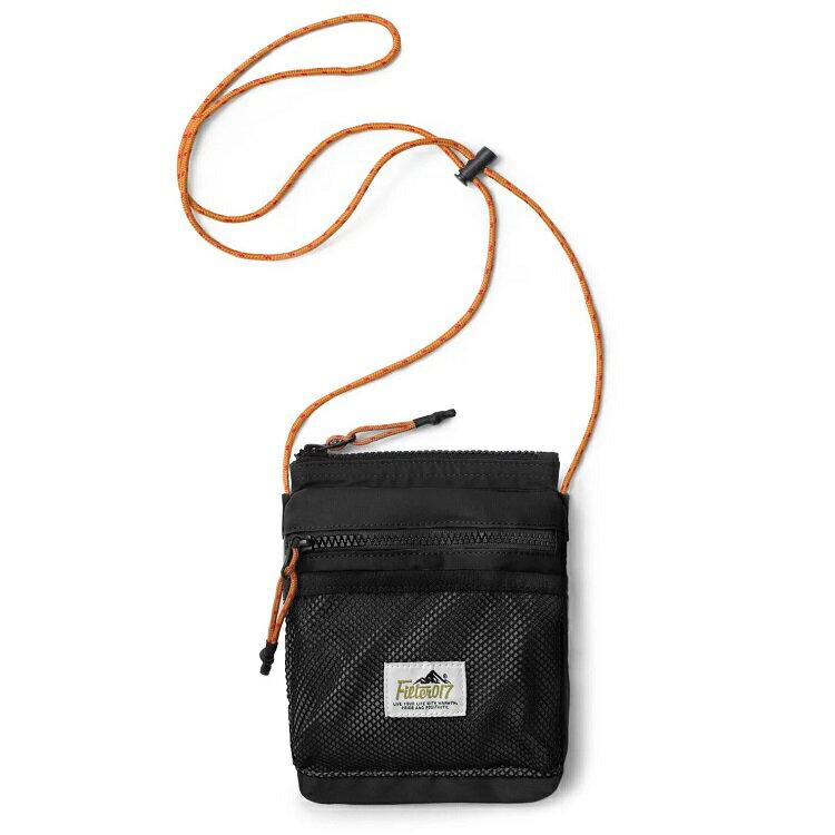FILTER017 Neck Pouch 掛頸小包/隨身小包/側背包 BG02 黑