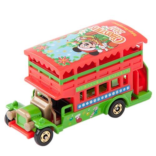 【真愛日本】17111800041限定樂園小車-雙層遊園車聖誕禮物CAL收藏聖誕禮物聖誕節米奇米老鼠迪士尼樂園限定日本帶回預購