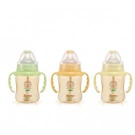 【買3支贈Baby King奶嘴夾】小獅王 辛巴 Simba PPSU 自動把手寬口葫蘆小奶瓶 200ml (S6187)【紫貝殼】