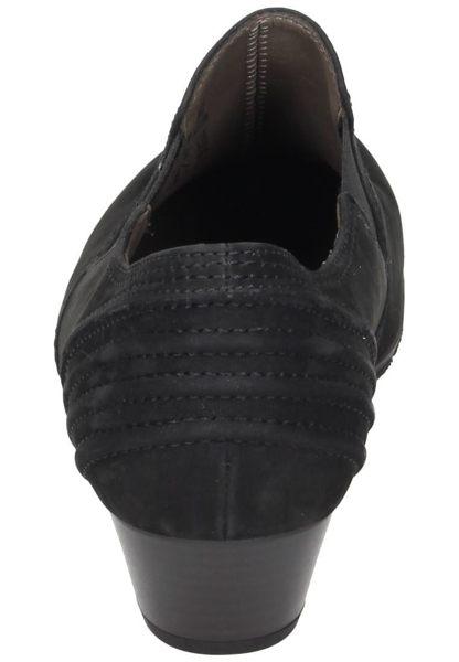 Gabor 歐美英倫時尚秋冬懷靴 黑  低粗跟│顯瘦│寬楦 3