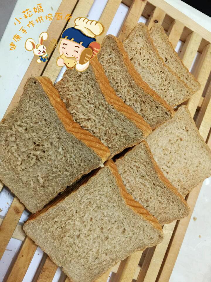 《小菘媽の手感烘焙》養身全麥吐司 厚片6-7片