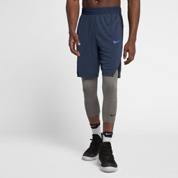 NIKEDRI-FITELITE男裝短褲籃球9吋網布透氣舒適深藍【運動世界】891769-414