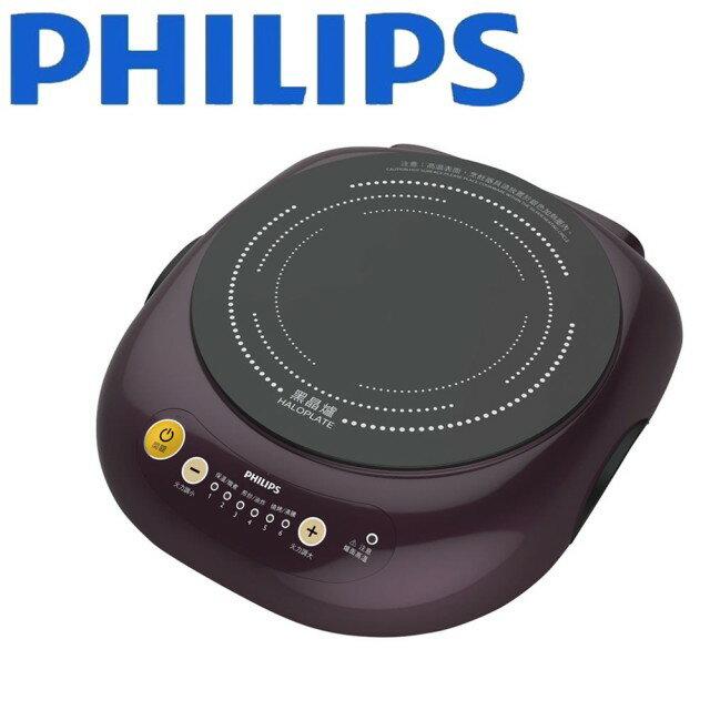 【PHILIPS】飛利浦不挑鍋黑晶爐 HD4998