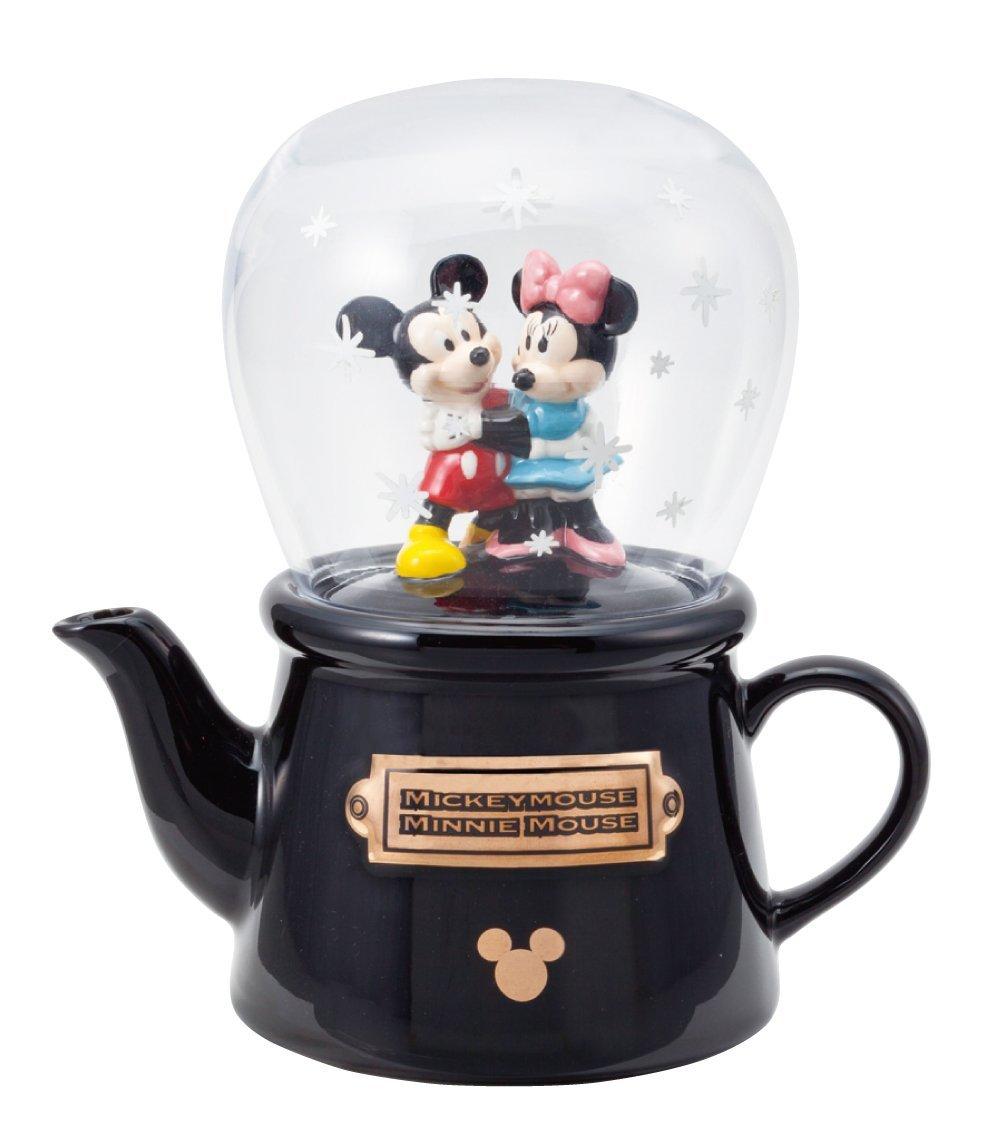 X射線【C227212】米奇Mickey米妮Minnie 造型陶瓷壺杯組,茶壺/水瓶/水罐/水壺/茶杯/對杯