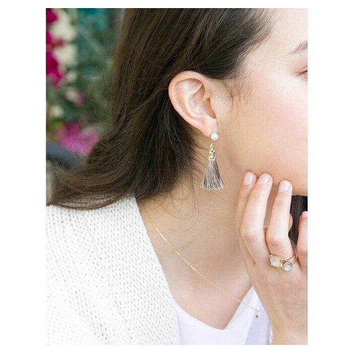 日本CREAM DOT  /  リング 指輪 アンティーク ヴィンテージ アクセサリー パール ビジュー 樹脂 テイストリング セット シンプル 金 ゴールド デイリー 結婚式 カジュアル 小物 ファッション雑貨 ギフト 大人 レディース 女性  /  qc0195  /  日本必買 日本樂天直送(1490) 5
