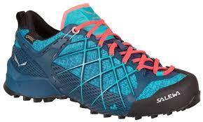 【Salewa德國】越野鞋Gore-Tex健行鞋防水戶外徒步旅行鞋女款-63488