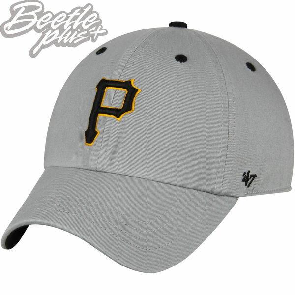 現貨BEETLE47BRAND老帽匹茲堡海盜PIRATES大聯盟職棒MLB灰黃藍