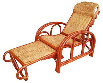 【MSL】金舒適三折休閒藤椅(一般型) 1