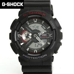 CASIO G-SHOCK 戰機雙顯錶【NECG24】柒彩年代 GA-110-1ADR