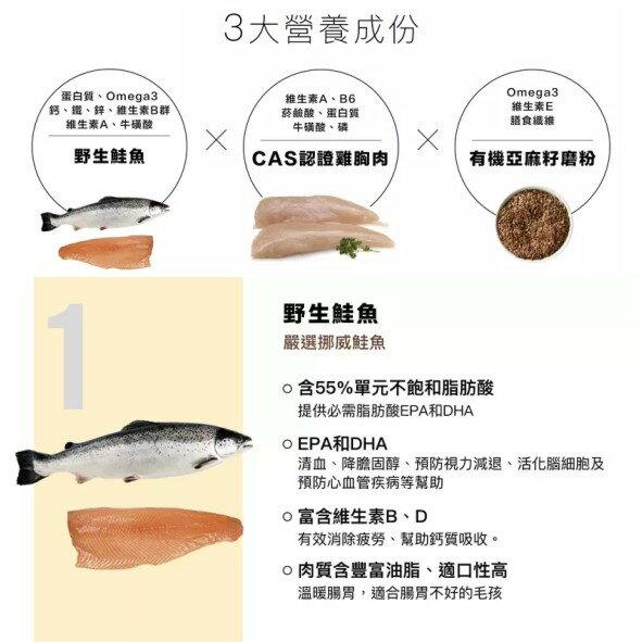 不麻煩鮮作寵食-野生鮭魚雞肉餅  Pet's Talk 2