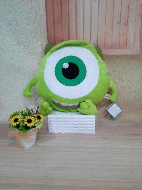 ~*My 71*~  絨毛娃娃 12吋 Q版大眼仔頭型抱枕 大眼怪 怪獸電力公司 抱枕 玩偶 兒童 禮物 情人 玩具