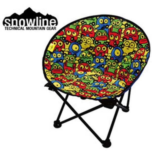 《台南悠活運動家》SnowlineSN75ULC008KC小型月亮椅-童(小怪獸)