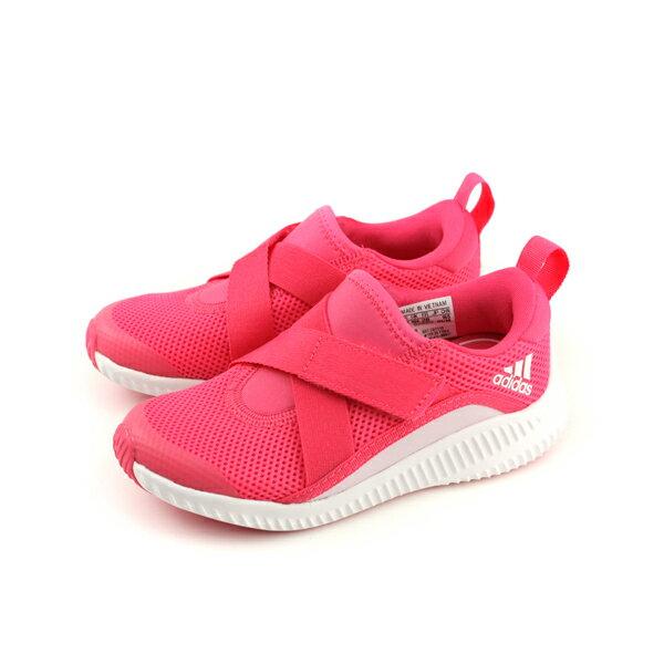 adidasFortaRunXCFK慢跑鞋運動鞋粉紅色中童童鞋CQ2449no583