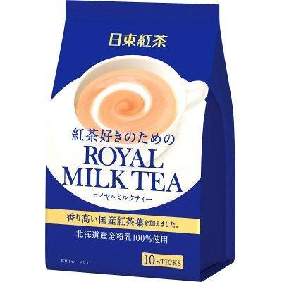 【日東紅茶】 皇家奶茶10本入 (140g)