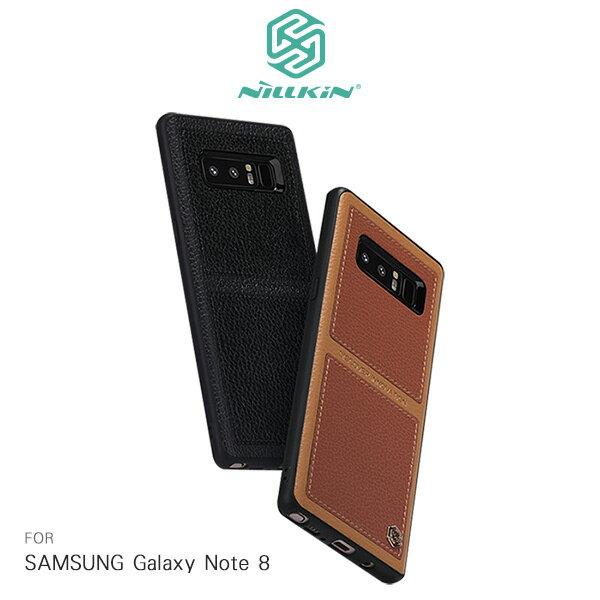 強尼拍賣~NILLKINSAMSUNGGalaxyNote8巴特商務手機殼保護套鏡頭加高保護