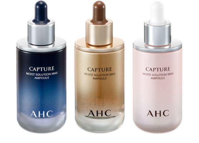 AHC 逆轉時空 升級版 安瓶 精華液 重生精華 50ml 三色 粉 藍 金