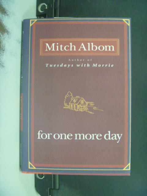 ~書寶 書T1/原文小說_GMV~For One More Day_Albom Mitch