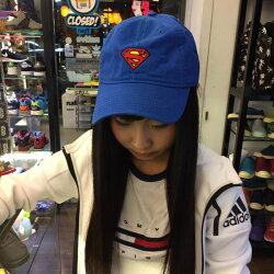 BEETLE PLUS 全新 商品 SUPERMAN CAP DAD HAT 超人 藍紅 經典 LOGO 老帽 棒球帽 可調式 男女款 MN-413