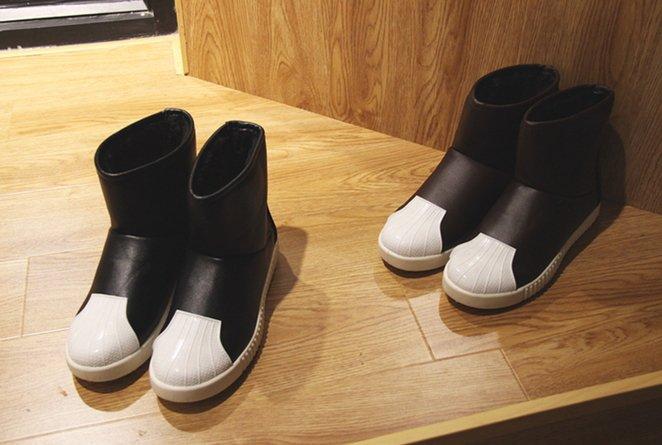 【JP.美日韓】 戰地 雪靴 貝殼頭 男鞋 高統鞋 保暖 厚底 adidas 愛迪達