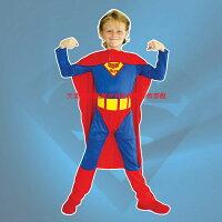 蝙蝠俠與超人周邊商品推薦GTH-0577 無敵超人裝化裝舞會表演造型派對服(S.M.L.XL)