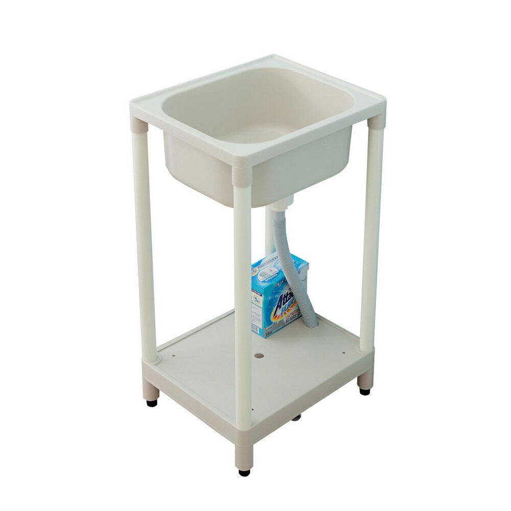 精巧日式塑鋼洗濯槽限時$1190/流理台/洗衣槽/洗手台/塑鋼/水槽/洗碗槽/洗衣板【JL精品工坊】