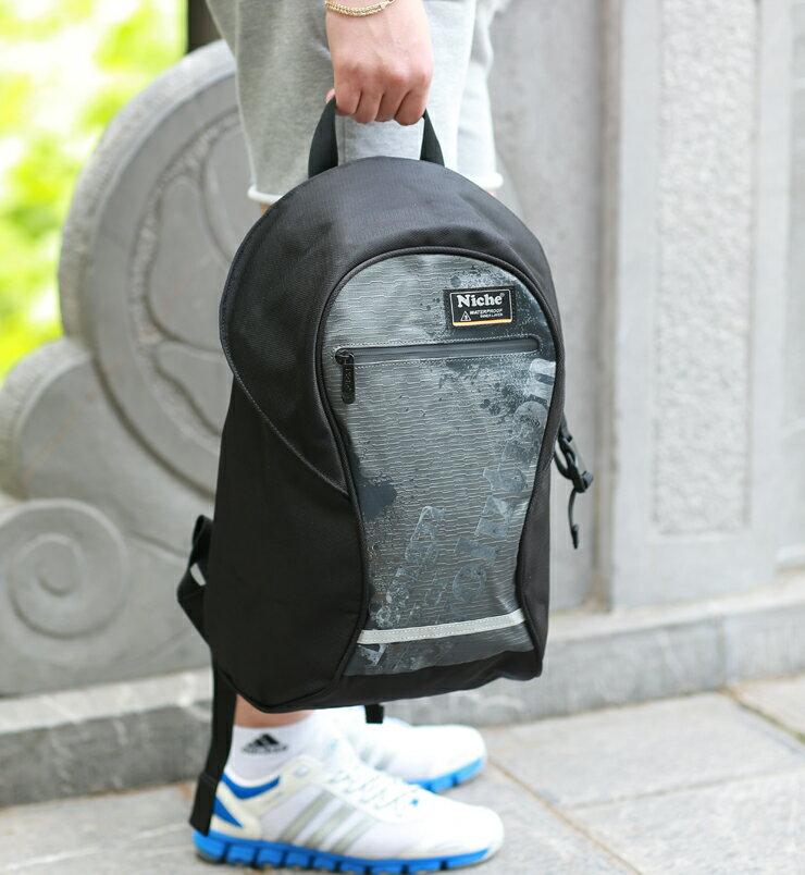 Niche 都會圓筒防水後背包 24L 戶外休閒背包 都會電腦包 【N-5202】 0