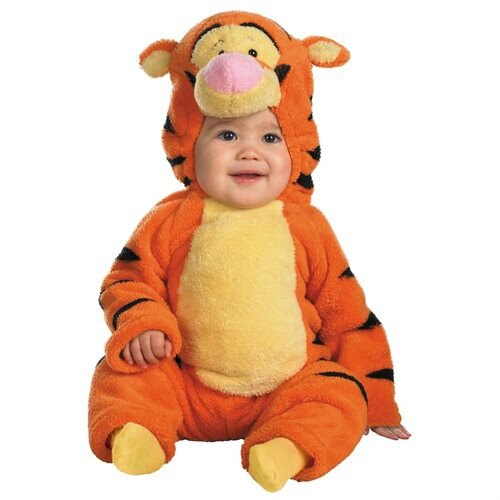 Disguise - Tigger Deluxe Two-Sided Plush Jumpsuit - 12-18 Months 0